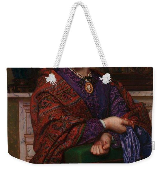 Fanny Waugh Hunt Weekender Tote Bag