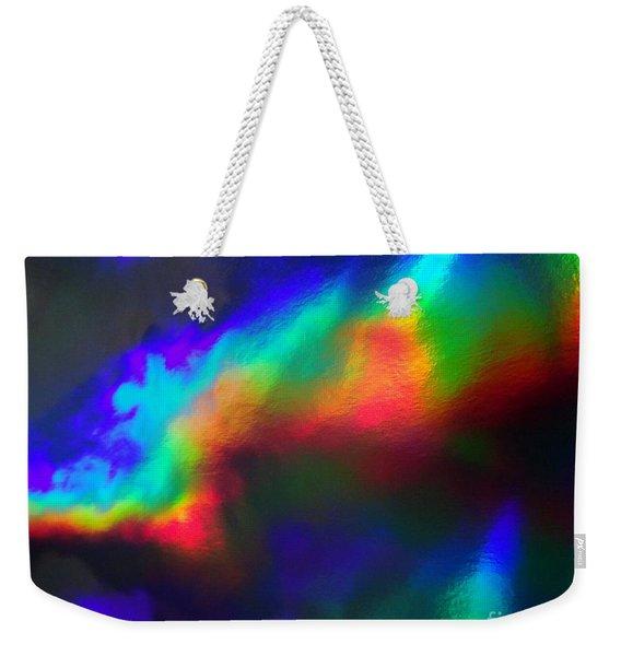 Heavenly Lights Weekender Tote Bag