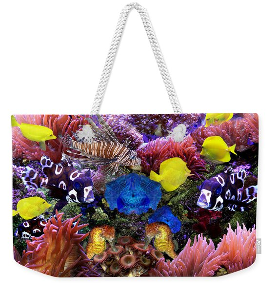 Fantasy Aquarium Weekender Tote Bag