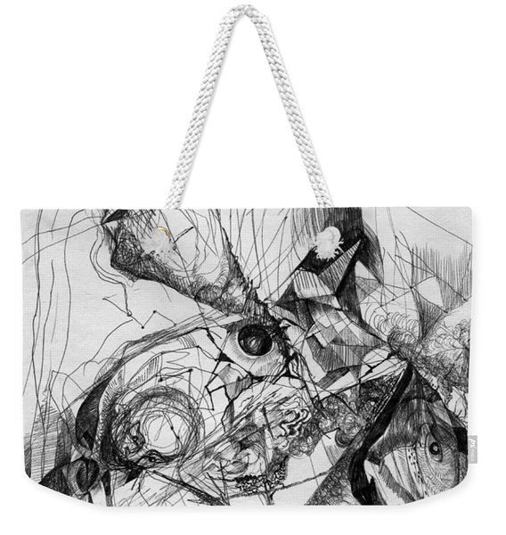 Fantasy Drawing 1 Weekender Tote Bag