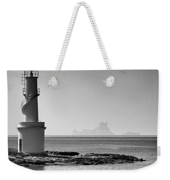 Far De La Savina Lighthouse, Formentera Weekender Tote Bag