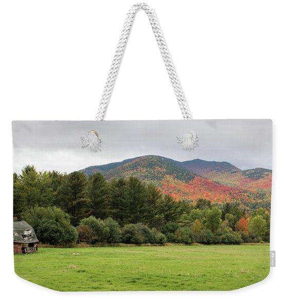 Farewell Red Barn Weekender Tote Bag