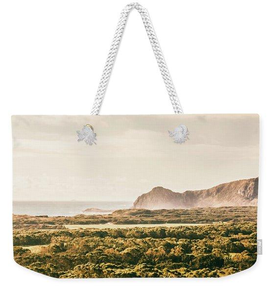 Farm Fields To Seaside Shores Weekender Tote Bag