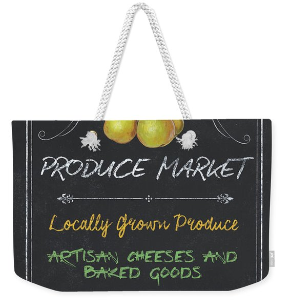 Farm Fresh Produce Weekender Tote Bag