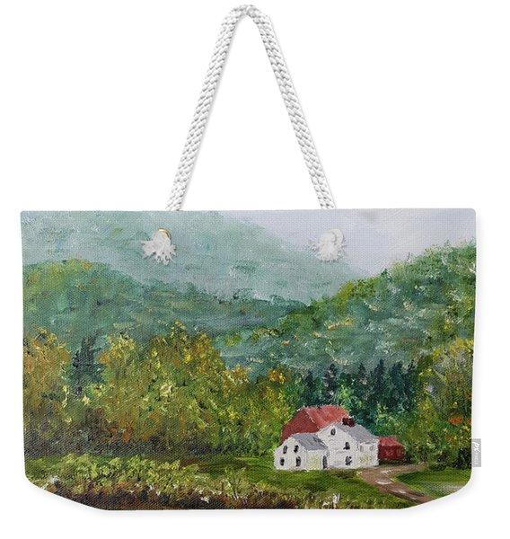 Farm In The Valley Weekender Tote Bag