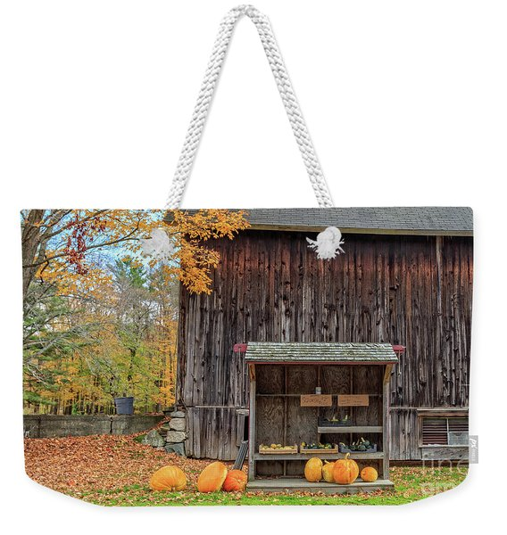 Farm Stand Etna New Hampshire Weekender Tote Bag