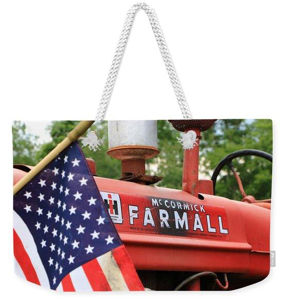 Farmall 2 Weekender Tote Bag
