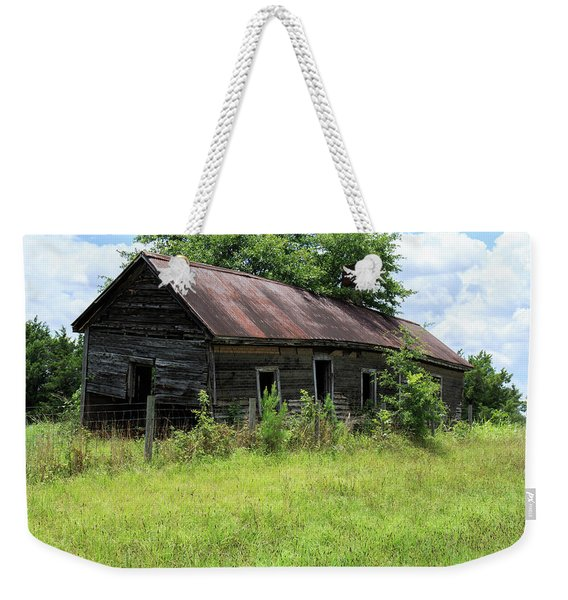 Farmhouse Abandoned Weekender Tote Bag