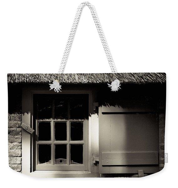 Farmhouse Window Weekender Tote Bag