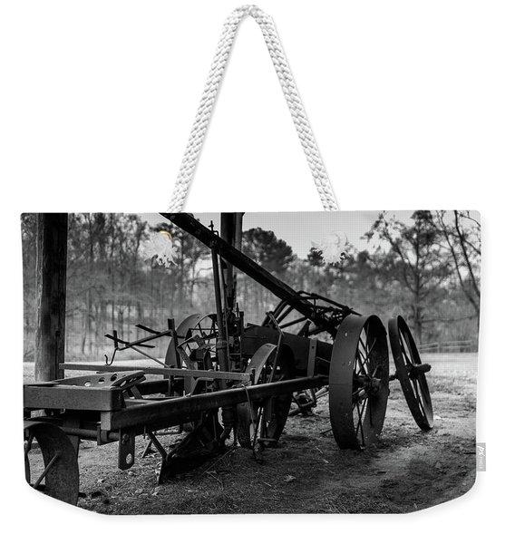 Farming Equipment Weekender Tote Bag