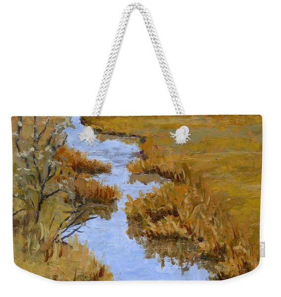 Farmington Bay Marsh Weekender Tote Bag