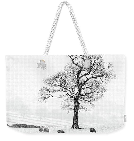 Farndale Winter Weekender Tote Bag