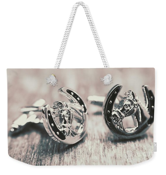 Fashion Links To The Melbourne Cup Weekender Tote Bag