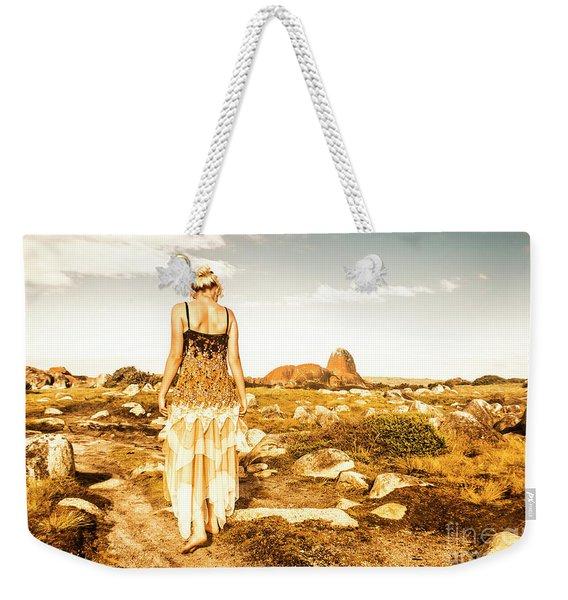 Fashioning A Granville Harbour Exploration Weekender Tote Bag
