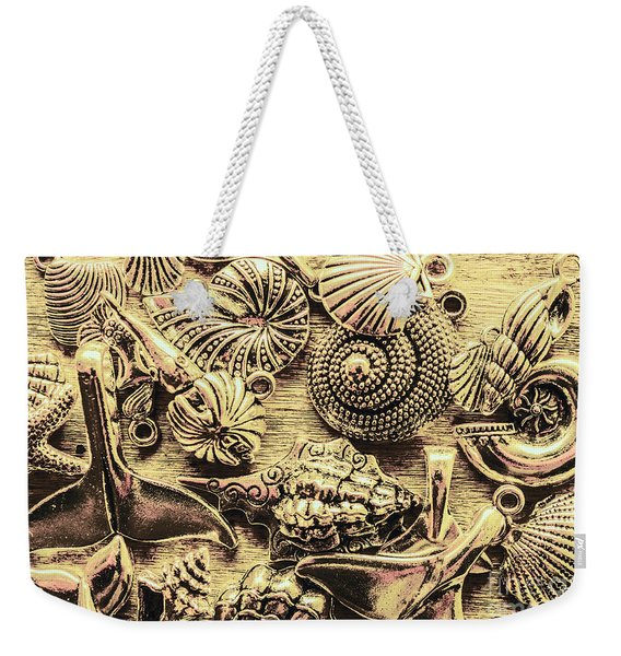 Fashioning A Oceanic Theme Weekender Tote Bag