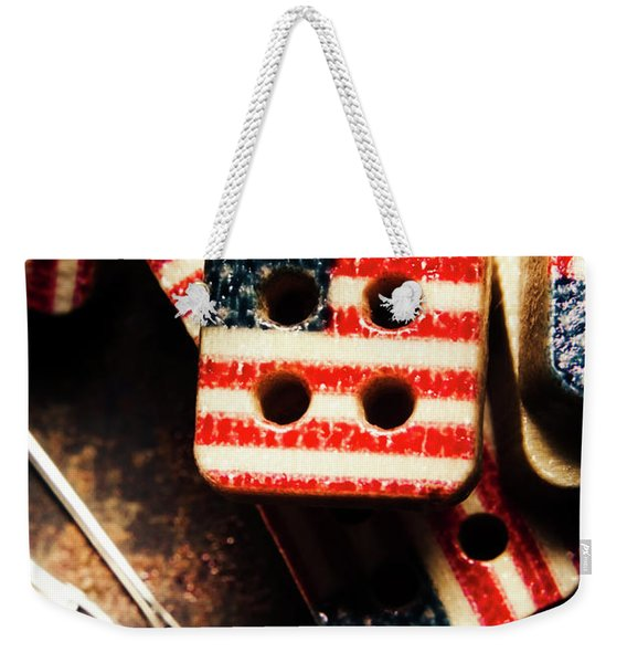 Fashioning A Usa Design Weekender Tote Bag