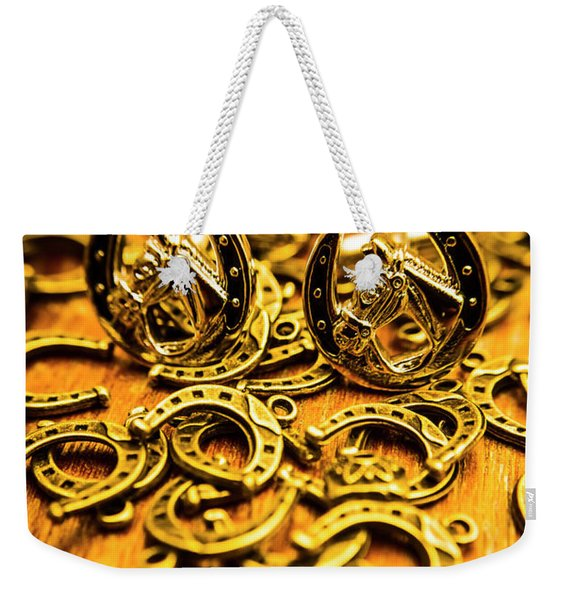 Fashions On The Field Weekender Tote Bag