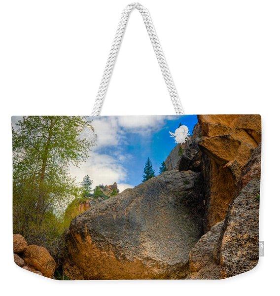 Fast-flowing Crazy Woman Weekender Tote Bag