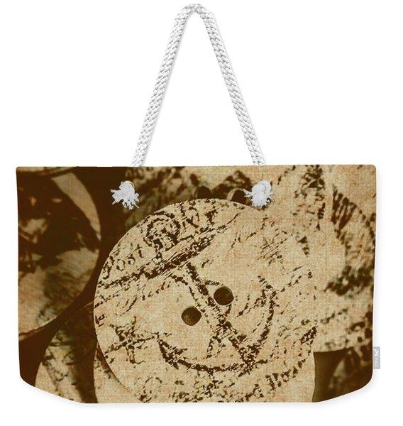 Fasten For Rough Seas Weekender Tote Bag