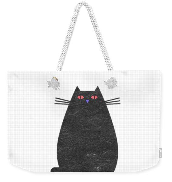 Fat Cat Weekender Tote Bag