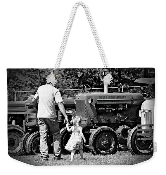 Father/daughter Day Weekender Tote Bag