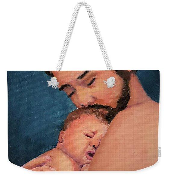 Fatherhood Weekender Tote Bag