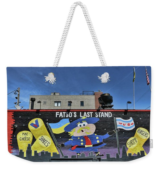 Fatso's Last Stand # 2 - Chicago Weekender Tote Bag