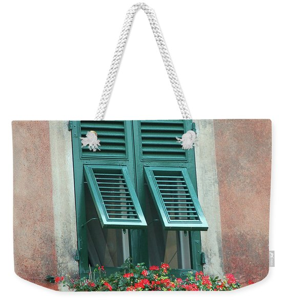 Faux  Painting Window  Weekender Tote Bag