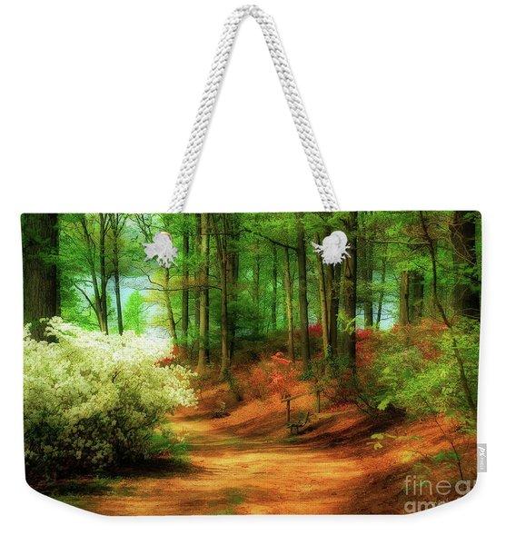 Favorite Path Weekender Tote Bag
