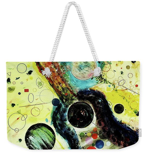 Weekender Tote Bag featuring the mixed media Favorites by Michael Lucarelli
