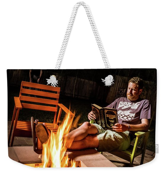 Fear By Fire Weekender Tote Bag