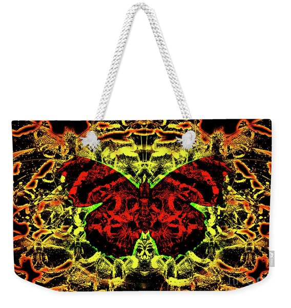 Fear Of The Red Admirals Weekender Tote Bag