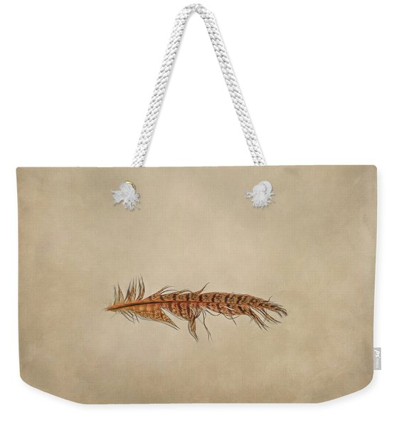 Feather 2 Weekender Tote Bag