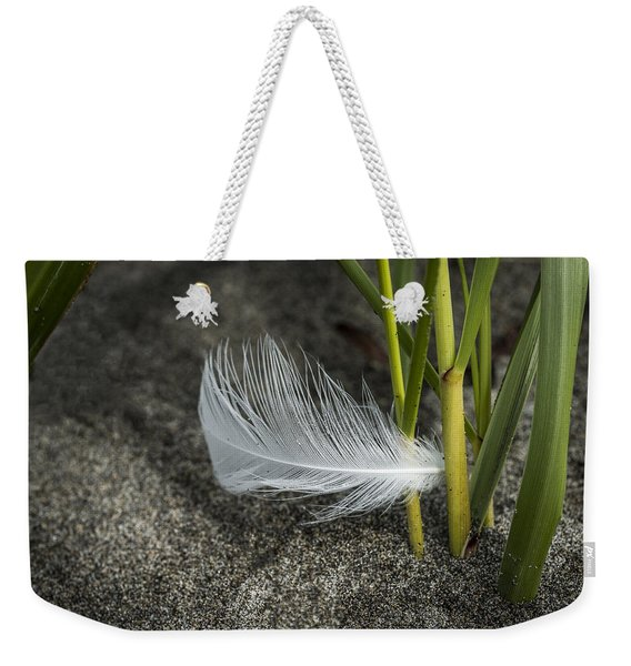 Feather And Beach Grass Weekender Tote Bag