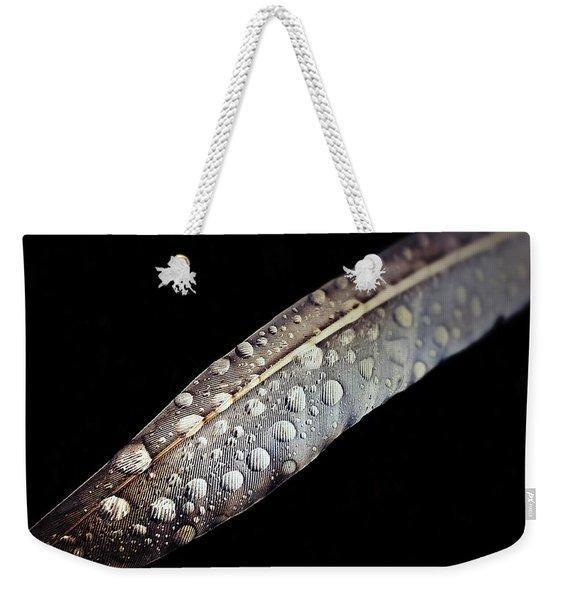 Feather Dew Weekender Tote Bag