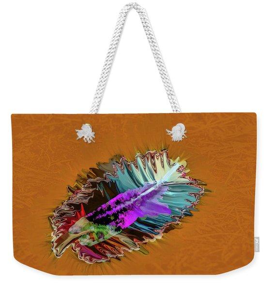 Feather #h8 Weekender Tote Bag