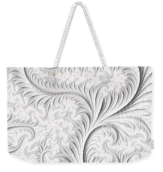 Feathered Weekender Tote Bag