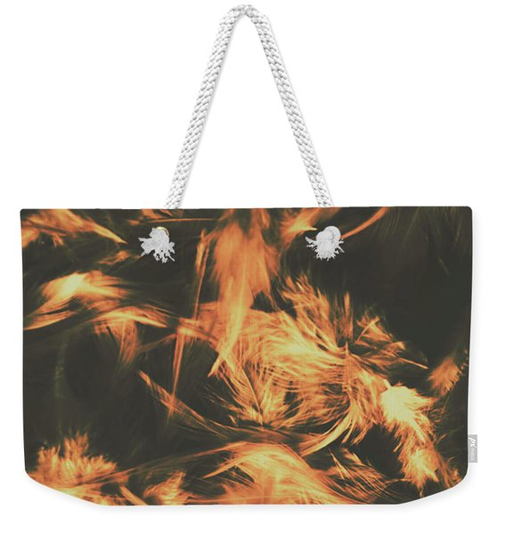 Feathers And Darkness Weekender Tote Bag