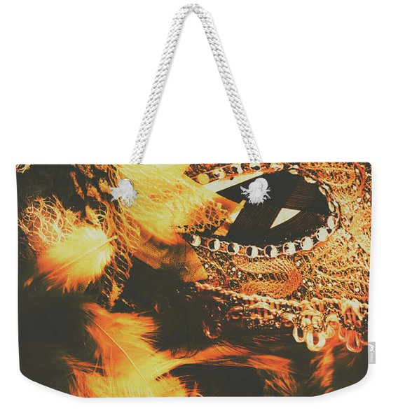 Feathers And Femininity  Weekender Tote Bag