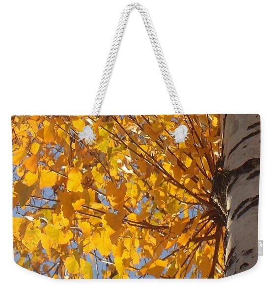 Feathery Fan Of Leaves Weekender Tote Bag