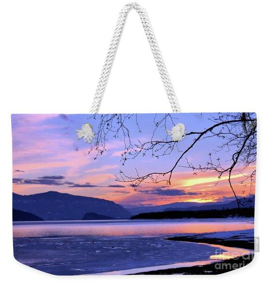February Sunset 2 Weekender Tote Bag