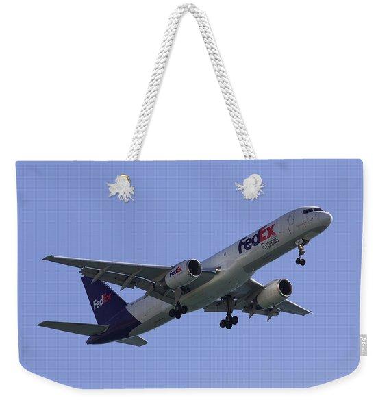 Fedex 757  Weekender Tote Bag