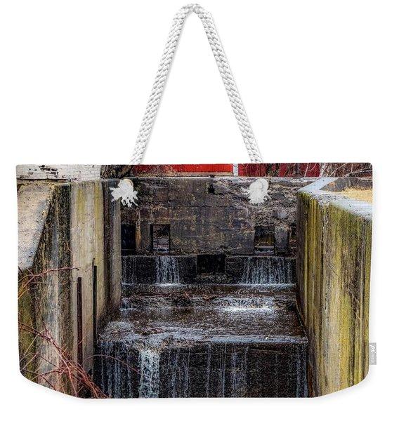Feeder Canal Lock 13 Weekender Tote Bag