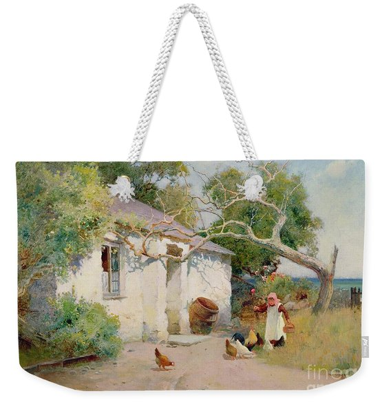 Feeding The Hens Weekender Tote Bag