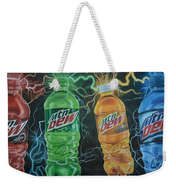 Feel The Dew Weekender Tote Bag