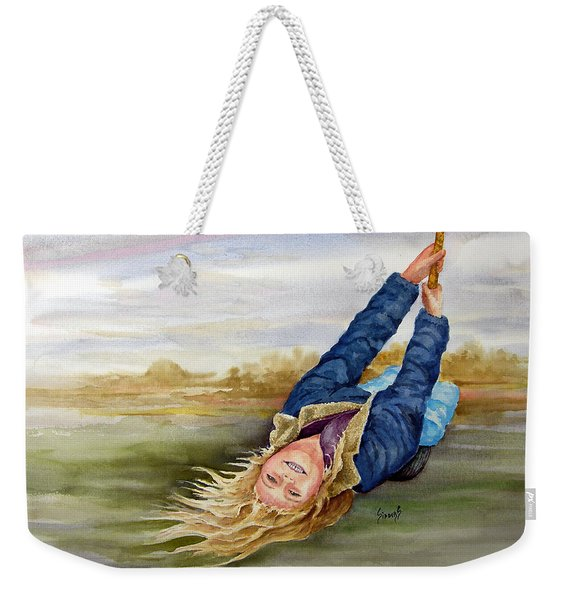 Feelin The Wind Weekender Tote Bag
