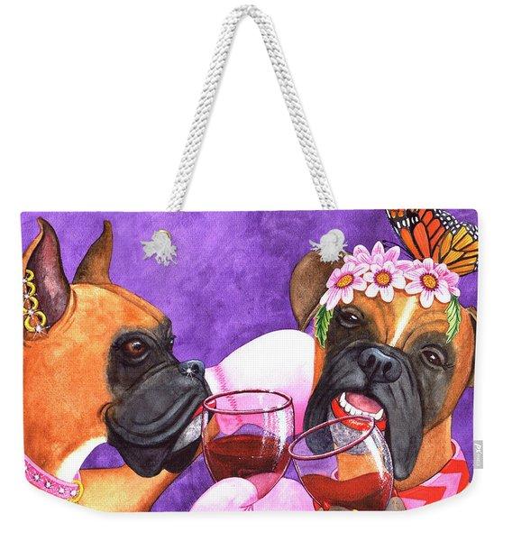 Feeling, A Little Punchy? Weekender Tote Bag