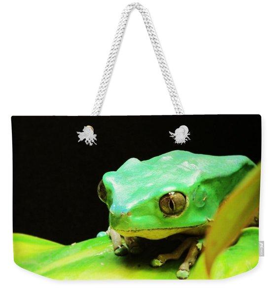 Feeling Froggy Weekender Tote Bag
