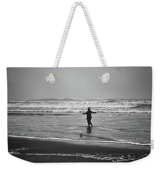 Feeling Her Joy Weekender Tote Bag