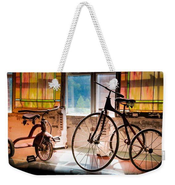 Feeling The Sounds Of Yesterday Weekender Tote Bag